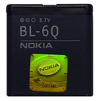 Аккумулятор  BL-6Q для Nokia 6700 classic 970 mah