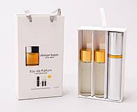 Мини парфюм с феромонами Clinique Happy for men в подарочной упаковке 3 x 15 ml