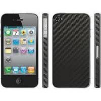 Защитная пленка Apple iPhone 4G/4S Clear-Coat Walnut карбон