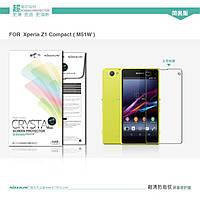 Защитная пленка Sony Xperia Z1 compact D5503 прозрачная Nillkin