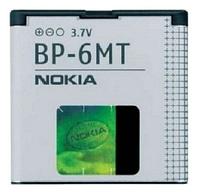 Аккумулятор  BP-6MT для Nokia 6720 classic E51 N81 N82 1050 mah