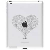 Скин Apple iPad 2/iPad 3/iPad 4 Ozaki iCoat Relief Love (IC830LO)