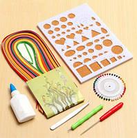 Набор для квиллинга базовый (6 предметов + бумага 240 шт)