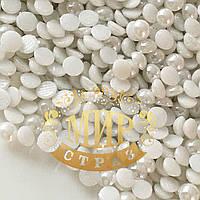 Керамический полужемчуг (аналог Сваровски) White   3мм (Упаковка 50шт)