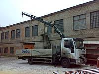 Аренда крана манипулятора Iveco 7 тонн в Днепропетровске