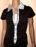 Блуза летняя - имитация двойки L/XL
