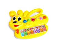 Музыкальная развивающая игрушка Пианино, 6 видов