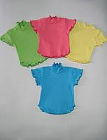 Блузка для девочки, подростка, интерлок. р.р.28-40.