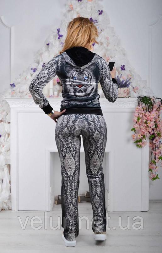 Велюровый костюм женский брендовый