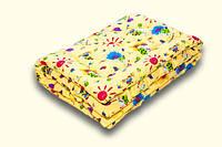 Одеяло детское  шерстяное 1,10*1,40, верх хлопок