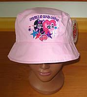 Детская панамка для девочки Литл Пони р.50-52, Sun City