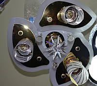 Люстра хрустальная, цена на сегодня,пульт LED, лампы 3+1,  недорого