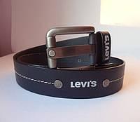 Мужские кожаные ремни для джинсов Levi's  - №1241