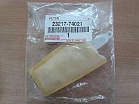 OE 23217-74021 сеточка  (Фильтр топливный грубой очистки RAV4)