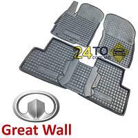 Автоковрики для GREAT WALL Haval H3- H5 (Комлект в салон) (Avto-Gumm), Грейт Волл Хавал