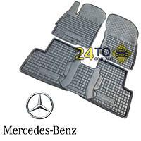 Автоковрики для MERCEDES W, X 166 (ML, GL - class) (Комлект в салон) (Avto-Gumm), Мерседес МЛ