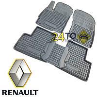 Автоковрики для RENAULT Kangoo (1998-...) 3 двери (Комлект в салон) (Avto-Gumm), Рено Кенгу
