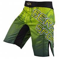 Мужские шорты зеленые с принтом для ММА VIPER green