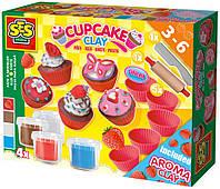 SES Creative Незасыхающая масса для лепки SES Creative Фруктовые кексы (00479S)