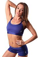 Женский топ для занятие спортом синий Blu Active
