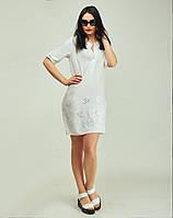 Легкое платье из ткани штапель  для девушек с любым типом фигуры