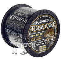 Леска Konger Team Carp Camou Dark Grey 1000м