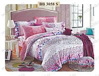 Комплект постельного белья Примавера 3058 евро сатин люкс