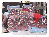 Комплект постельного белья Примавера 3065 двухспальный сатин люкс  4 наволочки