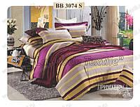 Комплект постельного белья Примавера 3074 двухспальный сатин люкс 4 наволочки
