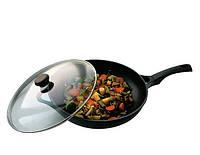 Сковорода-вок с крышкой «Cast form Classic» Ø32см (посуда Vinzer). Купить посуду Vinzer в Киеве