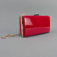 Красный женский клатч вечерняя сумочка №8119red