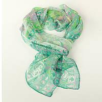 Лёгкий шифоновый шарф