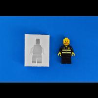 Силиконовый молд для мастики Человек Лего