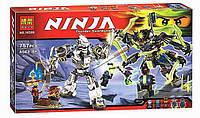 """Конструктор Bela Ninja 10399 """"Битва Роботов"""" 757 деталей"""