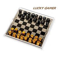 Карманные шахматы магнитные дорожные MPJS3009 в пластиковой коробке