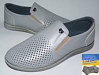 Детские кожаные летние туфли. 32р