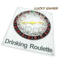 Алкогольная игра пьяная рулетка с рюмками для компании SGR3035
