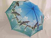"""Зонт детский животные, ткань полиэстер 0042 от фирмы """"SL"""""""