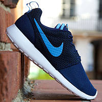 "Кроссовки Nike Roshe Run Hyperfuse ""University Dark Blue"""