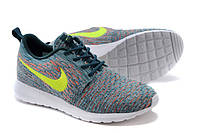 """Кроссовки Nike Roshe Run Flyknit """"Mineral Teal"""""""