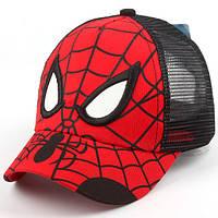 Бейсболка Spiderman с черной сеткой