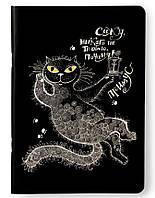 Sketchbook Кот-Бегемот Скетчбук светлые листы на скобе 90г
