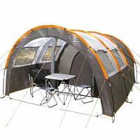 Большая двухкомнатная палатка 4-х местная Coleman