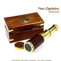 Карманная подзорная труба в деревянной коробке Skipper 2139SA