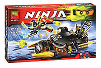 Конструктор Bela серия NINJA / Ниндзя 10394 Бластер-Байк Коула (аналог Lego Ninjago 70733)