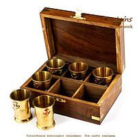 Набор рюмок для виски 25 мл морской подарочный на 6 стопок NIS905