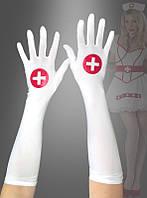 Длинные перчатки для медсестры