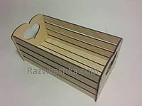Деревянный ящик для хлеба, фруктов, овощей и т.п.