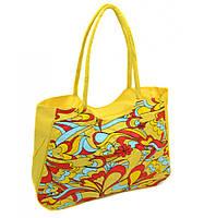 Красивая пляжная сумка