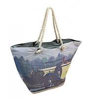 Пляжная сумка с авто